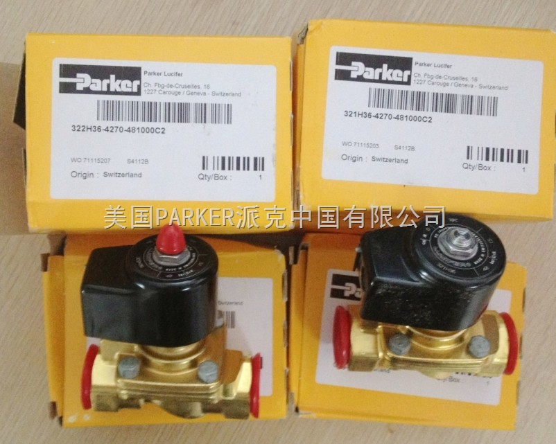 321h36 美国派克parker两位两通电磁阀图片