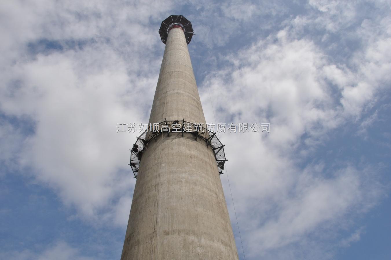 砖烟囱及钢筋混凝土烟囱新建施工安全要求砖砌烟囱时