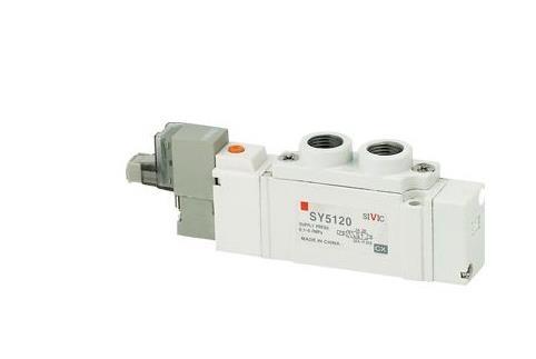 日本正品smc电磁阀sy5120-5moz-01