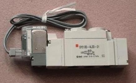 日本正品smc直动式电磁阀sy513-5dzd-01