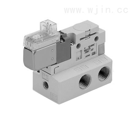 日本正品smc电磁阀vca21-6g-5-02