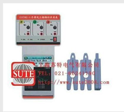 具有以下用途: ◆检测继电保护各组ct之间相位关系; ◆检查电度表接线