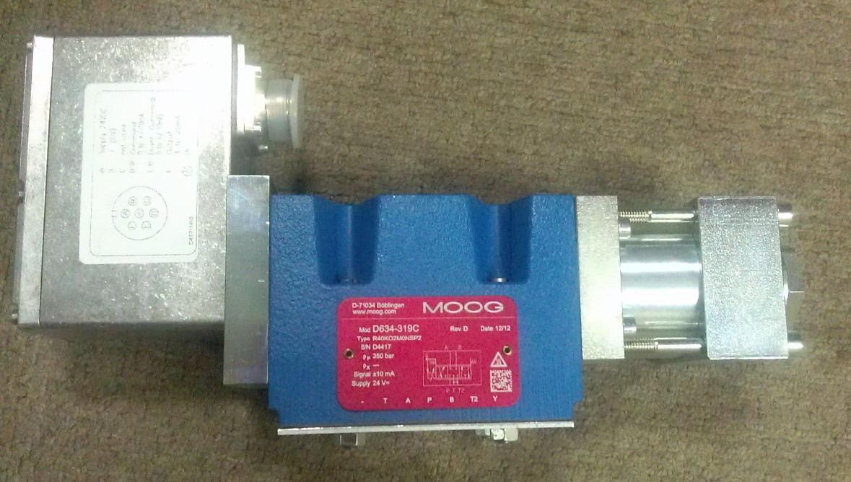使 用寿命长等优点, moog伺服阀已广泛应用于航空,航天,舰船,冶金图片