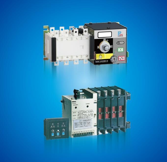 smq5双电源自动切换开关产接线图;