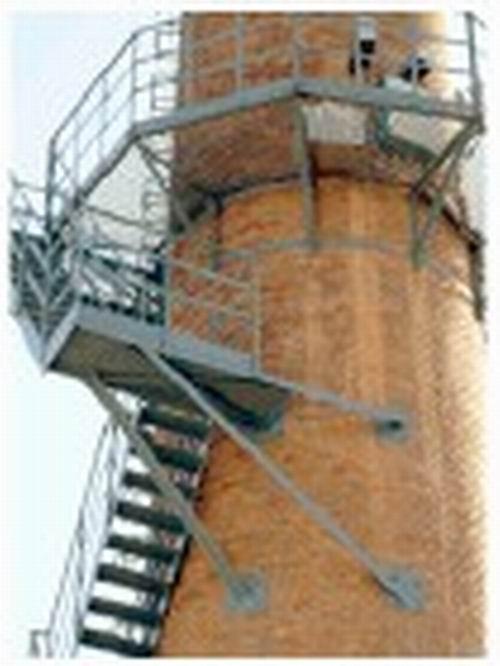 对钢结构安装的每一步都应作好测量监控. b.安全措施 a.