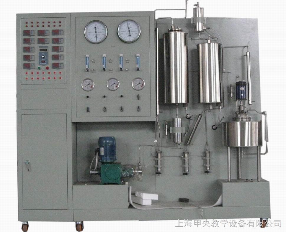 功能: 1、了解多功能催化反应实验装置的组成及工艺。 2、进行气固相催化反应、催化剂评价与工艺条件选择以及宏观动力学实验。 3、进行加氢、脱氢、氧化、烃化、芳构化、氨化等有机催化反应的研究。 4、了解液相釜式反应器的基本结构及工作原理。 主要配置: 固定床反应器、流化床反应器、釜式反应器、预热器、冷凝器、气液分离器、计量泵、气泵、调速电机、转子流量计、湿式气体流量计、温度仪表、压力仪表、电流表、实验台架及控制屏等。 技术参数: 1、固定床 (1)反应器:采用不锈钢材质精制,φ20×60
