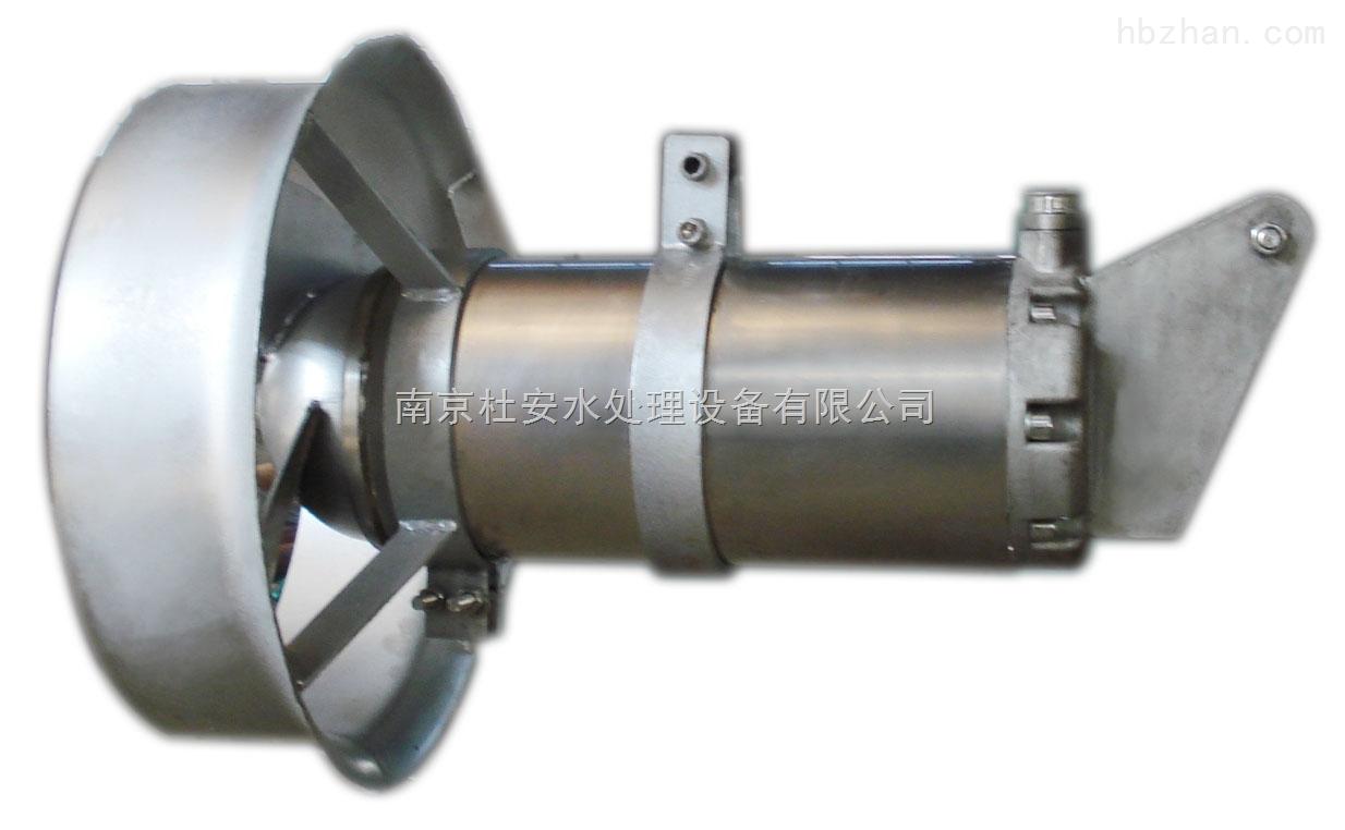 (7)潜水搅拌机上的动力芯线,接地线和控制芯线应与控制柜(箱)的接线