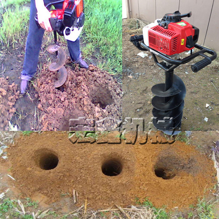 手提式植树挖坑机咸阳小型汽油挖坑机