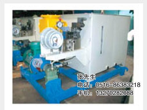 液压站外形尺寸 1100(长)×1000(宽)×1000(高) 皮带机液压张紧装置图片