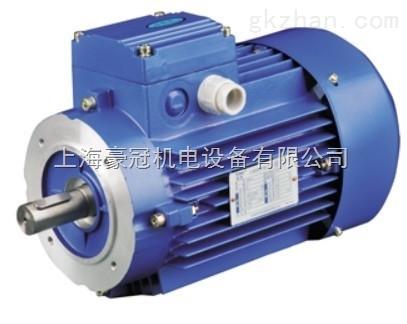 (但仅先单向运转) 电动机,制动器部可使用同一个电源.