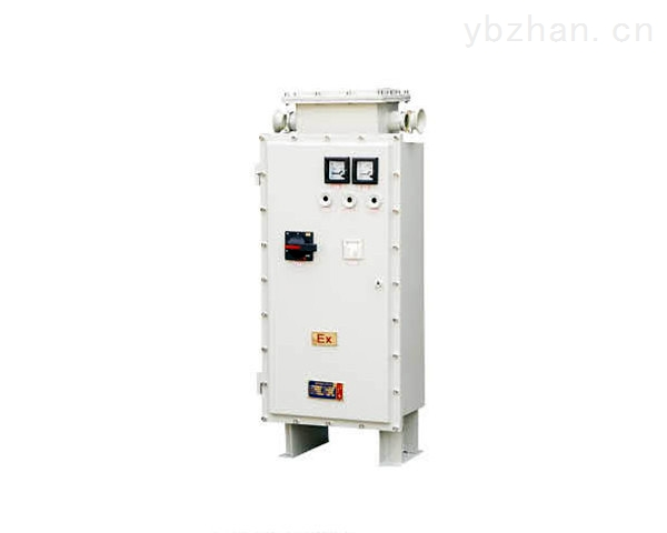 BQX69防爆星三角起动器 BQX69防爆星三角起动器适用范围 1.1区、2区危险气体场所; 2.IIA、IIB、IIC类T1-T4组爆炸性气体或蒸汽环境; 3.户内、户外(IP54). BQX69防爆星三角起动器技术特点 1.铝合金外壳或钢板焊接,表面喷塑; 2.内装交流接触器、热继电器、断路器、时间继电器、电流互感器、电压表、电流表、转换开关及指示灯等; 3.