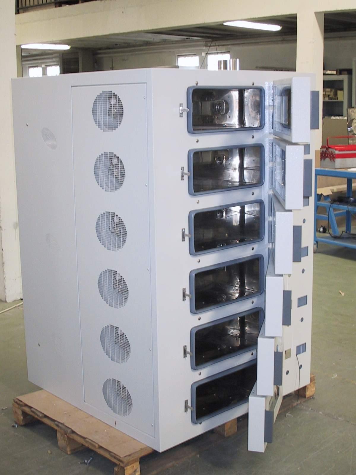 不锈钢镜面烤箱 热风循环烘箱 电路板烘箱